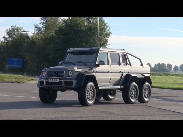 Mercedes-Benz G63 AMG 6x6 On the Road! | Гелик, автомобиль, машина, тачка