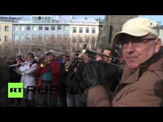 Исландия: Рейкьявик протесты действуя Премьер-Министр Следующий Панама Документы скандалом.