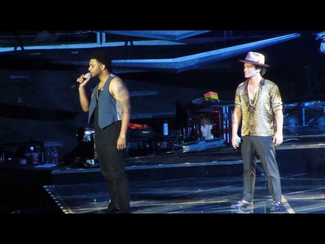 Bruno Mars If I Knew It Will Rain Live in San Jose