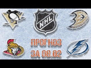 Прогноз на матчи НХЛ Питтсбург Анахайм и Оттава Тампа