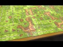 The Finished Game of World Record in Carcassonne