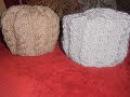Вязание женской шапки спицами. Узор Косы
