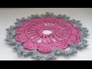 Crochet flower pattern 3 Вязание крючком цветок