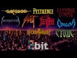 Technical Death Metal bands in 8-bit (NES)