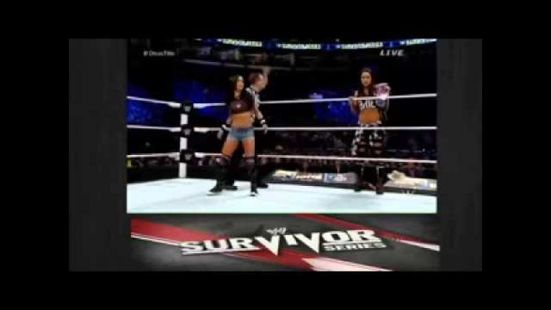 Nikki Bella vs AJ Lee WWE Survivor Series 2014 Full Match