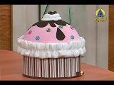 Sabor de Vida | Caixa Cup Cake - 17 de Dezembro de 2012