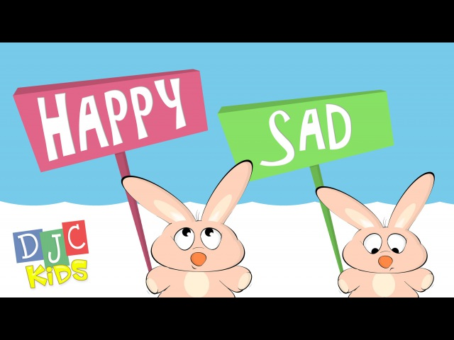 Happy and Sad with Urple the Purple Puppet - Preschool Learning