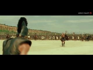 Троя - Ахилес против Боагриуса.Брэд Питт.HD 1080