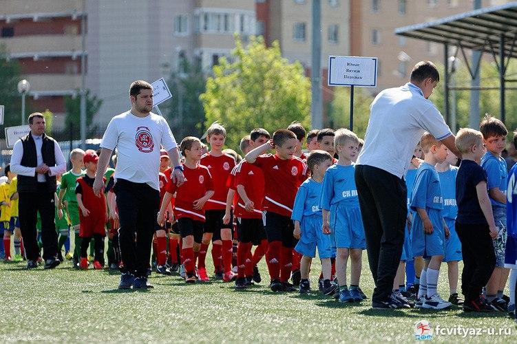 В День Победы в Подольске прошёл второй турнир «Кубок фонда Наследие»