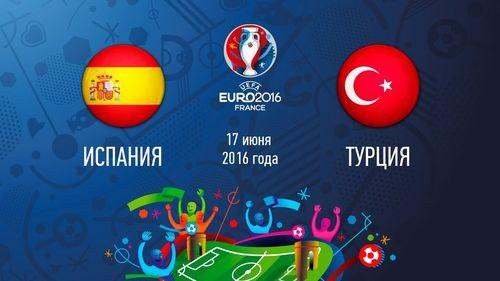 Испания 3 – 0 Турция. Обзор голов онлайн