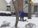 Экстремальная игра в снежки