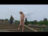 Lenja Nude in Public 2