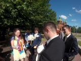 Свадьба Валеры - выкуп невесты (Забег с яйцом на короткую дистанцию и другие конкурсы)