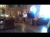 3 с.х Херувимская песнь (П.Чесноков, на Видя разбойник)
