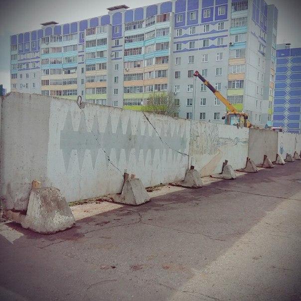 В Нижнекамске на проспекте Мира началось строительство ресторана быстрого питания