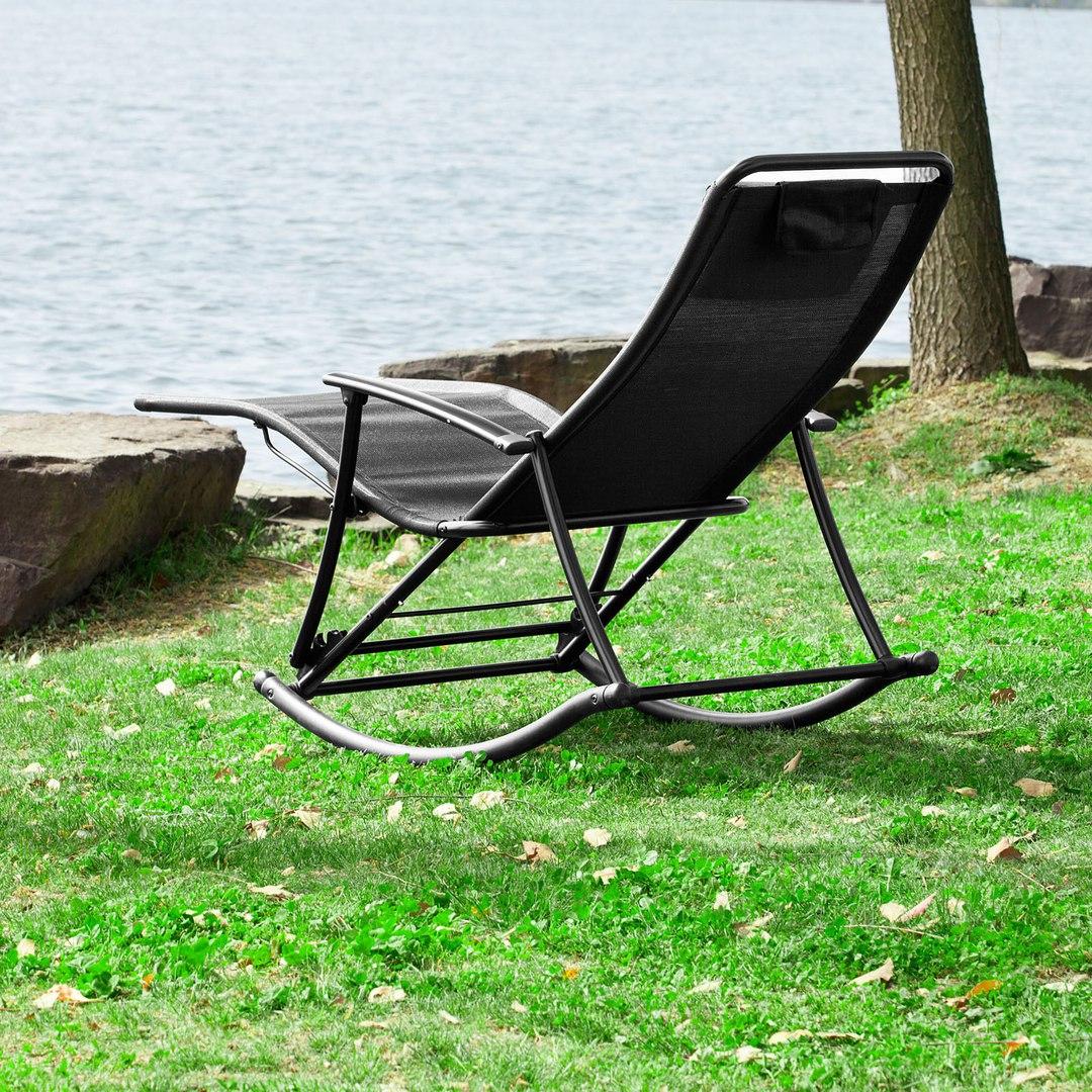 mecedora silla plegable balancn tumbona hamaca para su jardin terraza patio