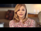 Chloe Grace Moretz BLUE SHIRT DAY TM WORLD DAY OF BULLYING PREVENTION Message