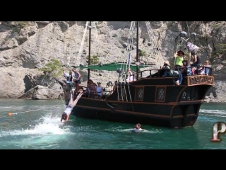 ГУЛЕНА - Пиратская Шхуна - Новый Свет - Судак