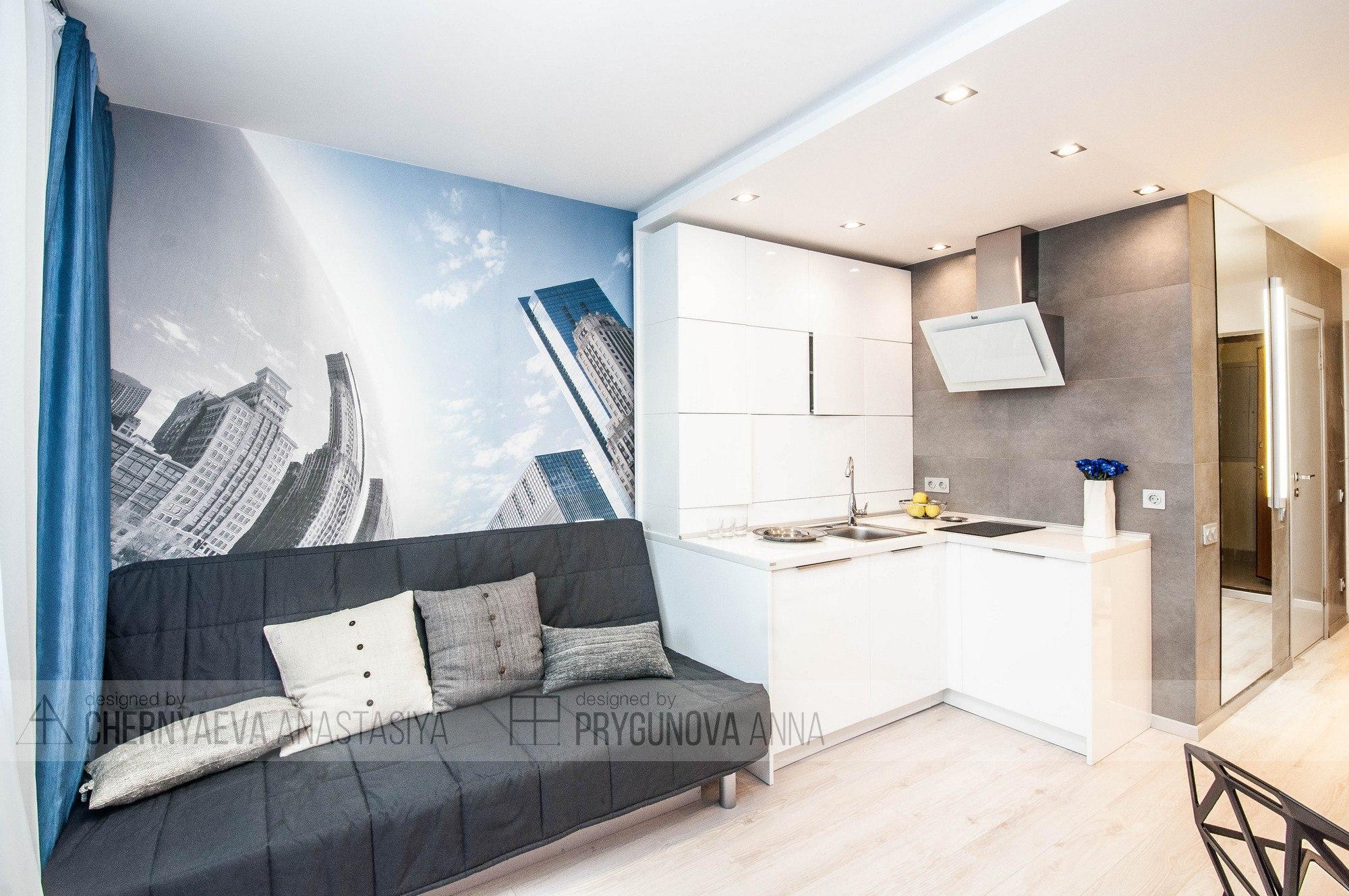 Квартира-студия площадью 23 кв.