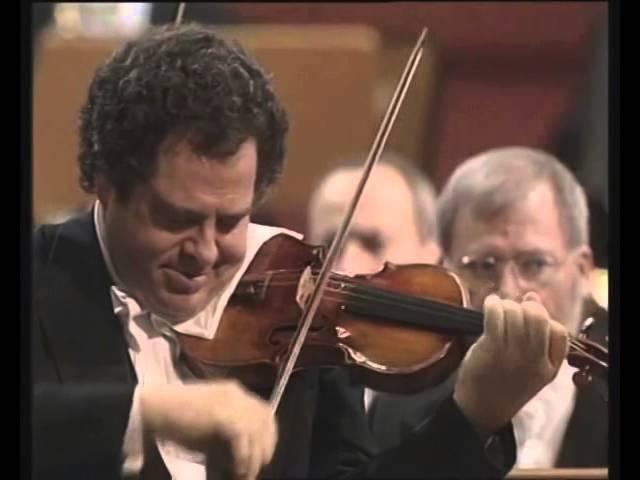 Ludwig van Beethoven - Violin Concerto in D major, Op.61 (Itzhak Perlman; Daniel Barenboim)