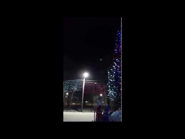 Колокольный звон над Нерчинском в новогоднюю ночь