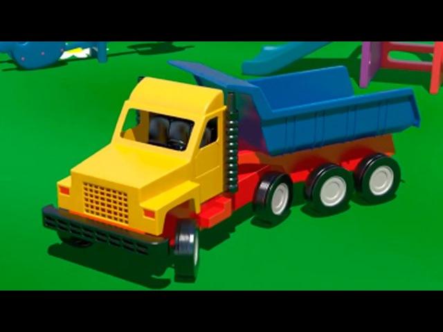Грузовик для детей все серии подряд Смтреть мультики про грузовик для малышей