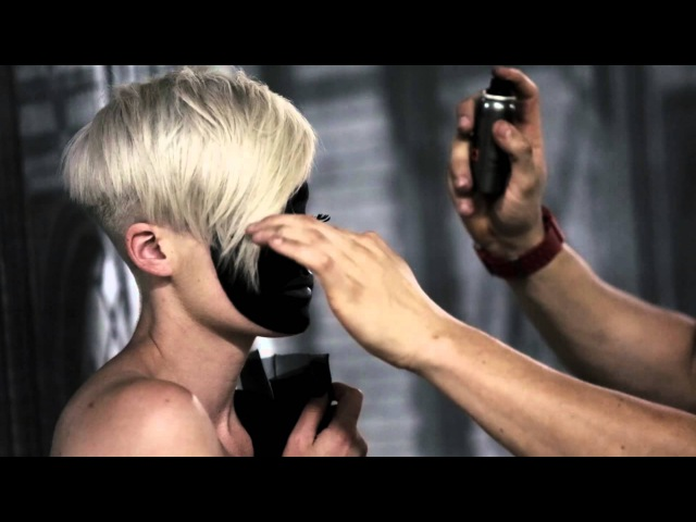 'Mussiro Masks' Collection 13/14 is a series of short cropped pixie cuts - by Adam Ciaccia.