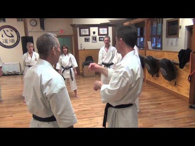 Taira Masajji демонстрирует технику Белого Журавля / Юньчунь Бай Хэ Цюань в чистом виде