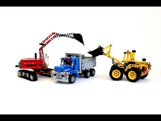 Лего Техник 42023 Строительная Команда – Обзор / Lego Technic 42023 Construction Crew – Review