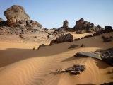 Похожая на Марс пустыня Гоби.