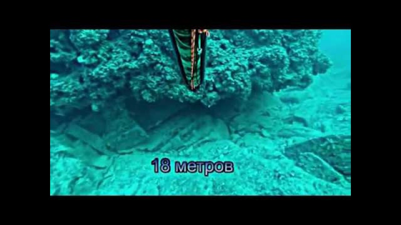 Подводная охота с каяка на Чёрном море