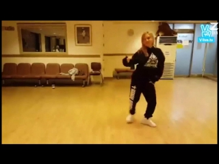 [V] ХёЁн (SNSD) и Мин (Miss A) - Dance Battle [рус.саб]