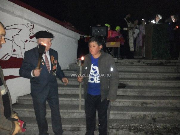 В станице Исправной прошли мероприятия посвященные 71-й годовщине Победы в Великой Отечественной войне