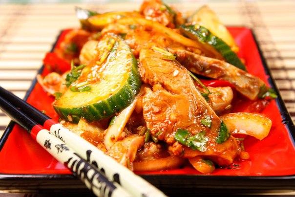 Судак хе корейски рецепт фото