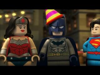 Лего Супергерои DC: Лига Справедливости - Разборки в Готэме (2016)   Трейлер
