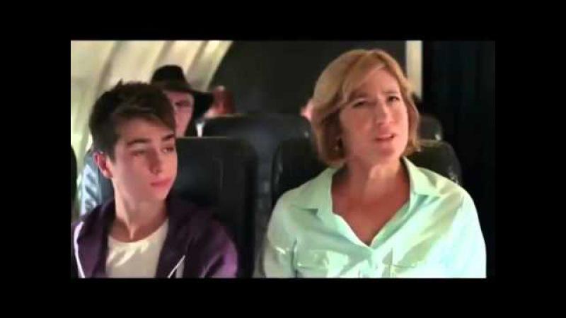 магия управляет самолётом
