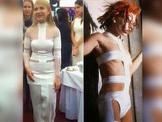Дизайнер: Тимошенко отметила юбилей в «голом» платье не по возрасту