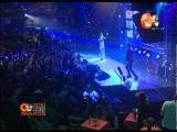 Dan Balan и Вера Брежнева - Лепестками слез Live OE VIDEO MUSIC AWARDS