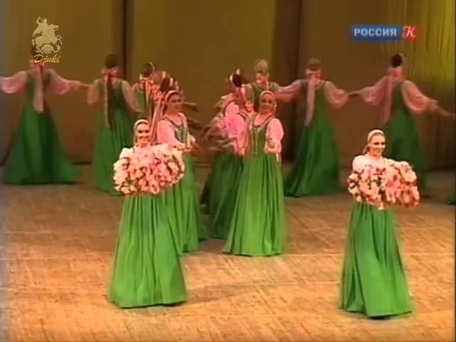 Весенний хоровод (Spring a round dance) - Русский девичий хоровод