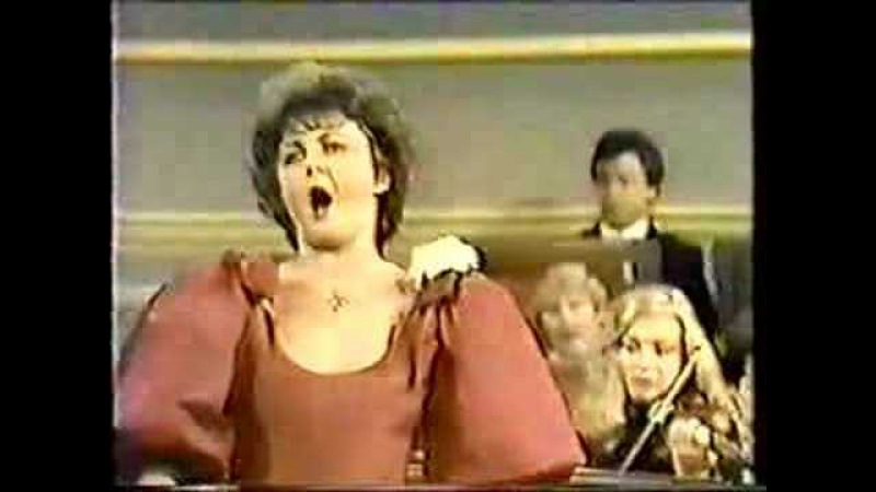 Gruberova sings Glauce's Aria from Medea by Cherubini