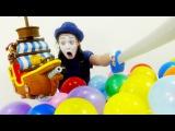 Видео для малышей. Замечательный клоун Алекс погружает и детей, и взрослых в игру
