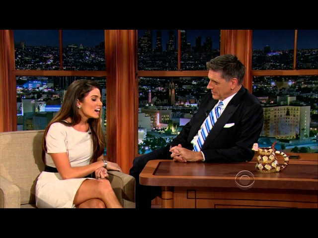 The Late Late Show with Craig Ferguson 92012 Nikki Reed