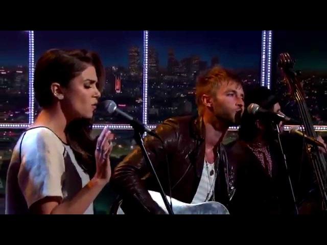 Paul McDonald Nikki Reed - Honey - Late Late Show with Craig Ferguson
