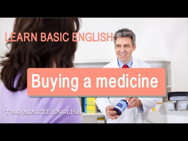 Health English - English Conversation At a Chemist's Store. Speaking English At A Pharmacy