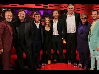 Series 19 Episode 9 - В гостях: - Ryan Gosling, Russell Crowe, Jodie Foster and Bright Light Bright Light feat. Sir Elton John.