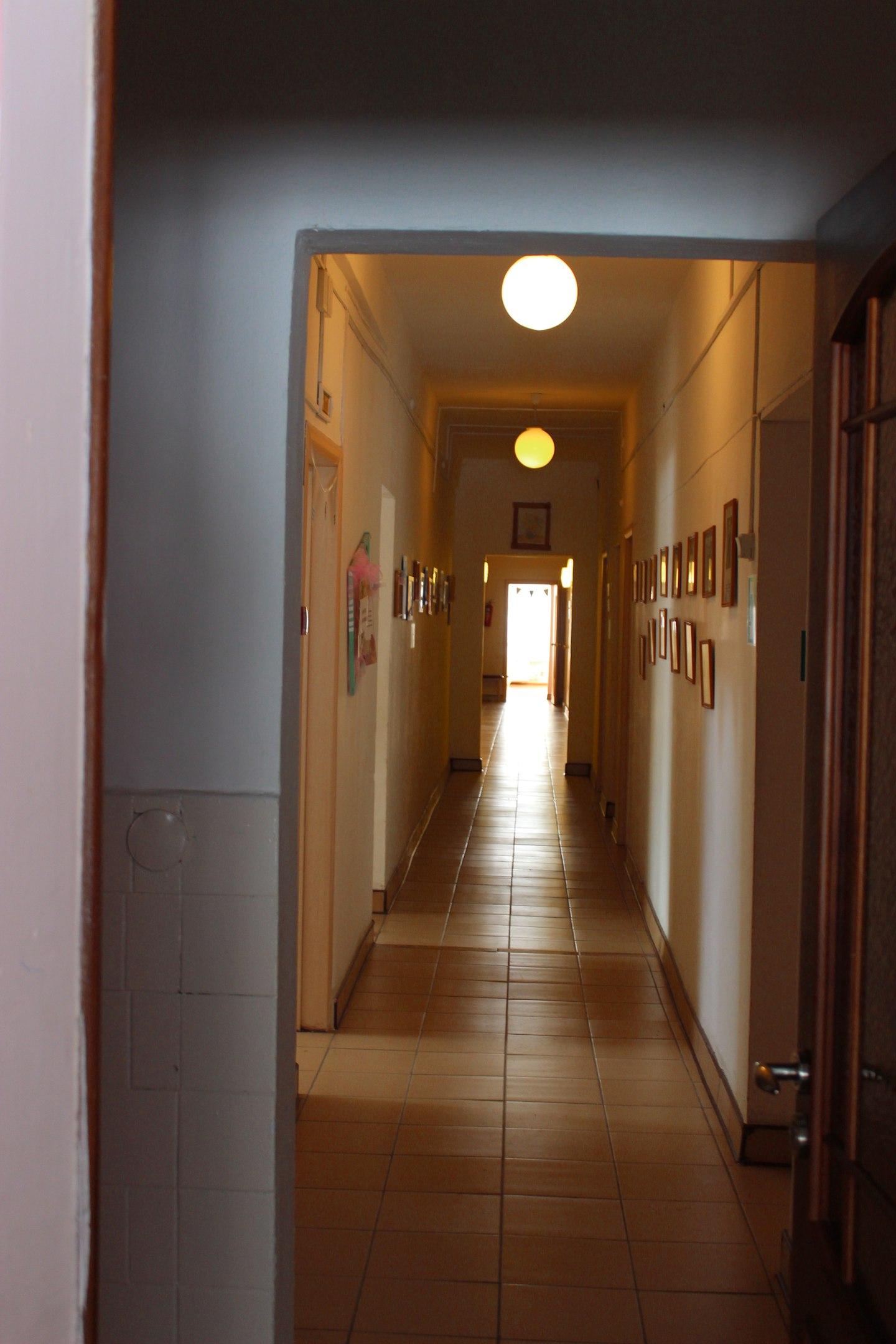 Коридор на 1 этаже