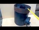 Печь длительного горения универсальная Hot Master 8 / Супер печка / Long burning stove Hot Master 8