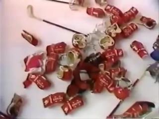 Самая массовая драка в хоккее, финал молодежного чемпионата мира 1987 г.,