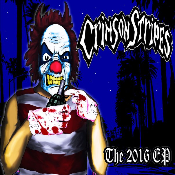 Дебютный EP группы CRIMSON STRIPES - The 2016 EP