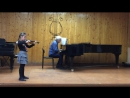 Veronica Gremyachikh - O.Rieding, Op.35 Concert in H-moll, part 1